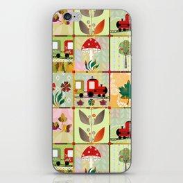 Children's Dominoes. Cubes. iPhone Skin