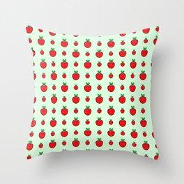 strawberries in springtime 4 Throw Pillow