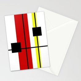 Geometrical design Stationery Cards