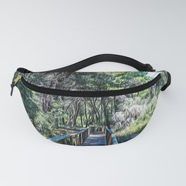 Maritime pine forest in Salento Fanny Pack
