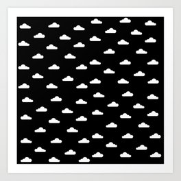 Dark Sky x Cloud Art Print