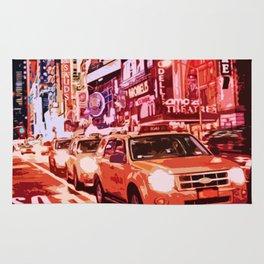 Glittering Light of New York City Rug