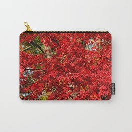 Red Japanese Maple Carry-All Pouch