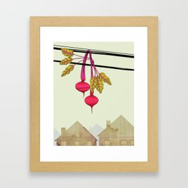 Beets in the Hood Framed Art Print