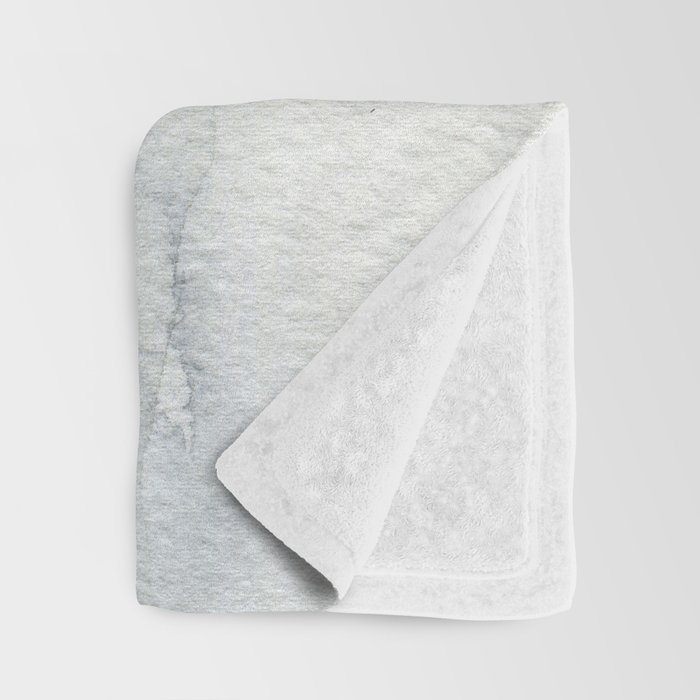 Winter Birch Trees Woodland Watercolor Original Art Print Throw Blanket