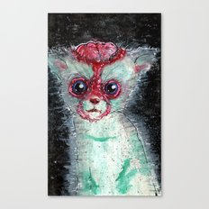 Kitty Popped Canvas Print