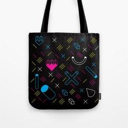Altiro Studio Midnight Geometrix Tote Bag