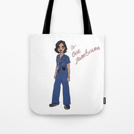 Lana Parrilla as Dr Eva Zambrano (Miami Medical) Tote Bag