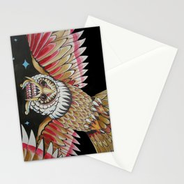 night watchman Stationery Cards