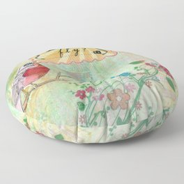 What If You Fly? Floor Pillow