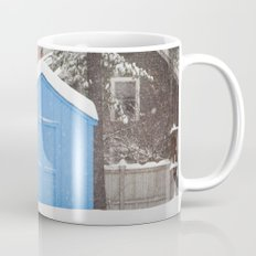Blue Snow House  Mug