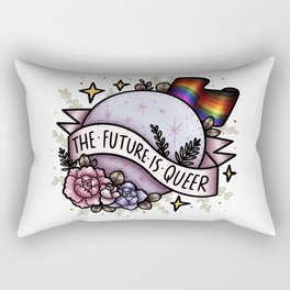 The Future Is Queer Rectangular Pillow