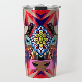Fancy color bull divinity Travel Mug