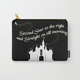 Tinkerbelle Peter Pan Second Star to the Right Carry-All Pouch