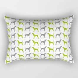 Plott Hound Pattern Rectangular Pillow