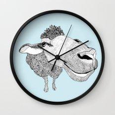 Sheepy Wall Clock