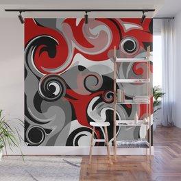 Turbulence Wall Mural