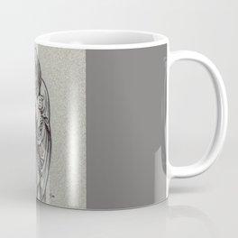 Winter, Louvre, Paris Coffee Mug