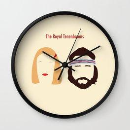 The Royal Tenenbaums, Margot, & Richie Wall Clock