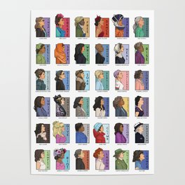 She Series - Real Women Collage 1-4 Poster