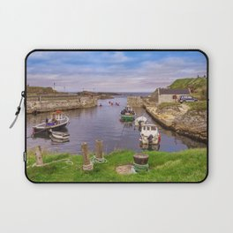 Balintoy Harbour Laptop Sleeve