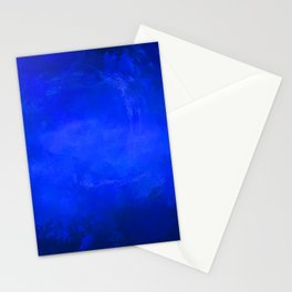 Deep Ocean Blue Stationery Cards