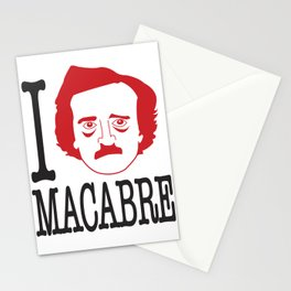 I __ Macabre Stationery Cards