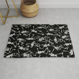 Grim Ripper BLACK Rug