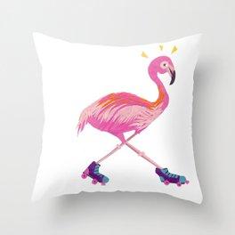 Flamingogo Throw Pillow