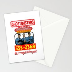 Ghostbusters Advertisement Stationery Cards