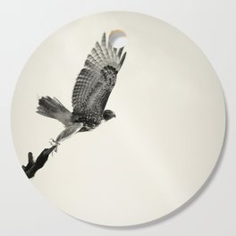 Red-Tail Hawk on Columbia River, Washington, Bird, Wildlife Cutting Board
