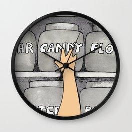 Candy Snatcher Wall Clock