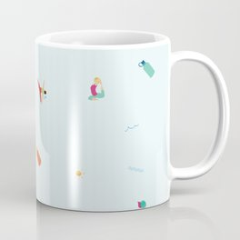Yoga People Coffee Mug
