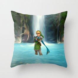 Adventure of Zelda Throw Pillow