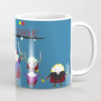 league Mugs featuring Peppermint League by Carieo's Creation