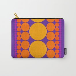 Purple Dots Carry-All Pouch