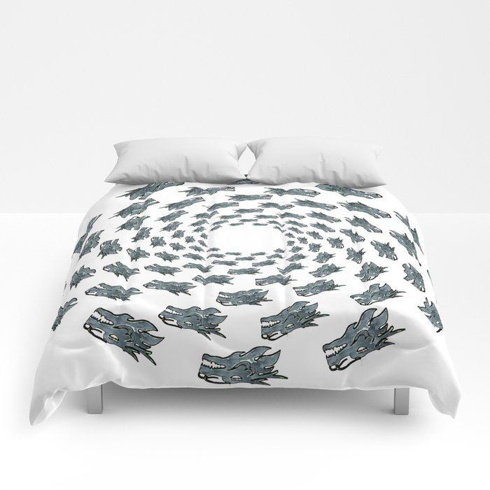 Dragon Head   (A7 B0075) Comforters
