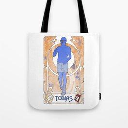 Tobias Art Nouveau Tote Bag