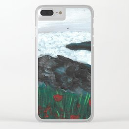 Where the roses grow Clear iPhone Case