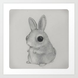 BunBun Art Print