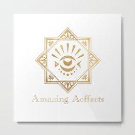 Amazing Aeffects Transparent Metal Print