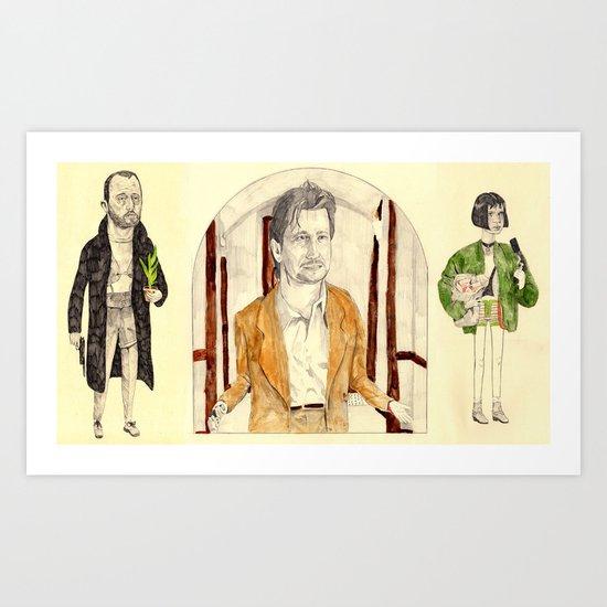 ~Léon~ Art Print