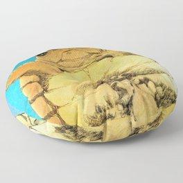 TURTLE HUG Floor Pillow
