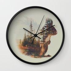 Norwegian Woods: The Squirrel Wall Clock
