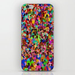 All of these people hate me iPhone Skin