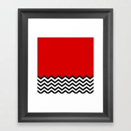 Black Lodge Dreams (Twin Peaks) Framed Art Print