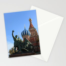 Saint Basil's Cathedral, Moscow Stationery Cards
