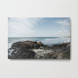 Coast of Nicaragua Metal Print