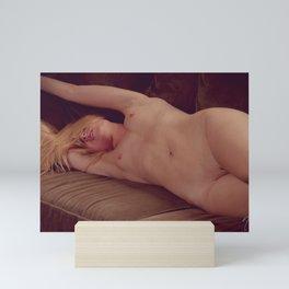Art Nude - Julie Darling 0893 ~ Organic Boudoir Bodyscape Mini Art Print