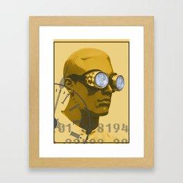 Steampunk Boy Framed Art Print